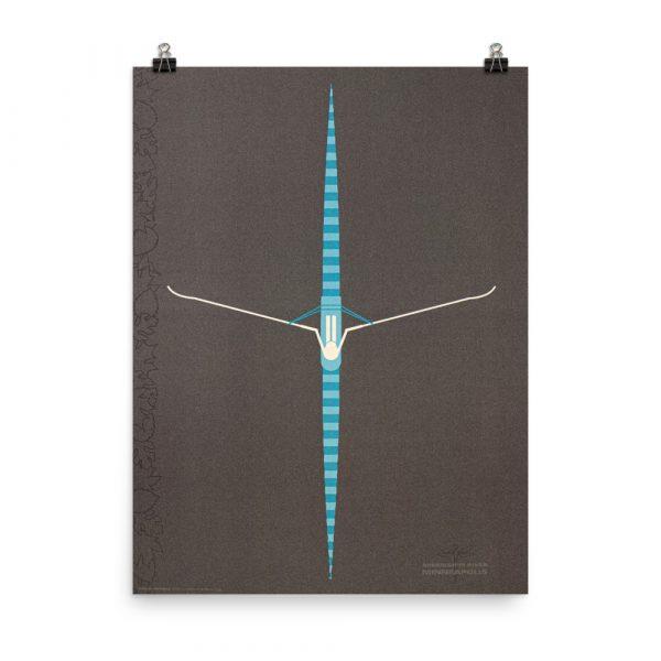 Social Distance – poster by Linda Henneman