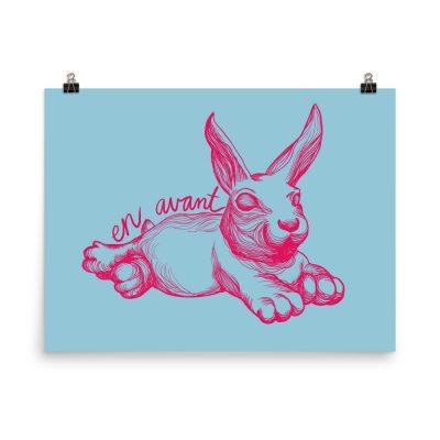 Minnehaha Bunny – poster by Meher Khan