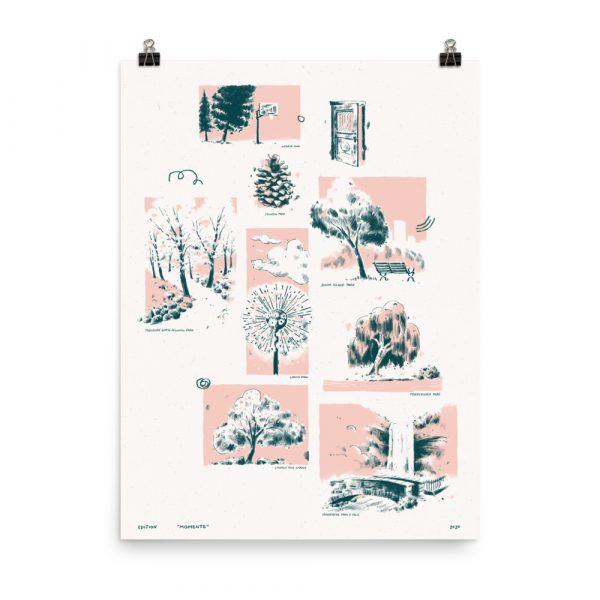 Moments – poster by Jesse Lindhorst