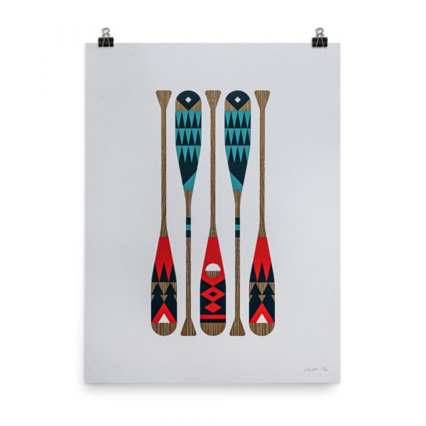 Wild Oars – poster by Cody Petts