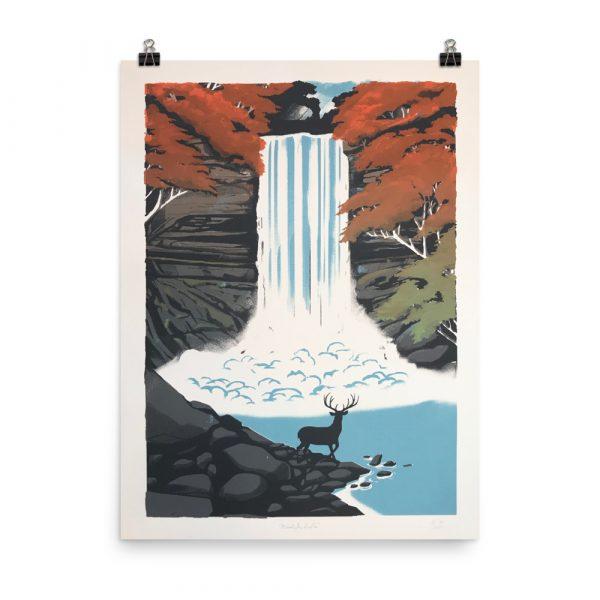 Minnehah Falls – poster by Lucas Richards