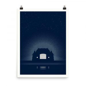 Night Music – poster by Karl Schweikart