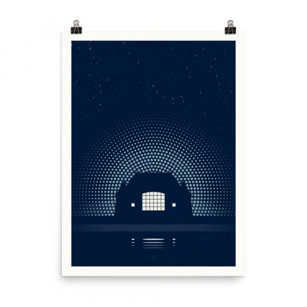 Night Music – poster by Karl Schweikart