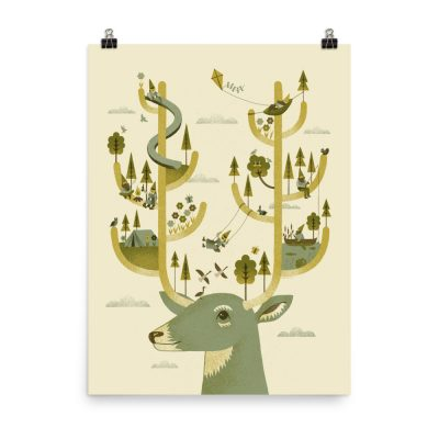 Antler Park - poster by Studio on Fire